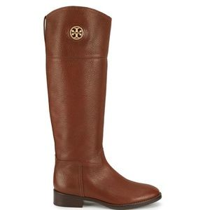 Tory Burch brown leather riding boots - size 8